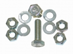 E14536 BOLT AND NUT SET-SEAT BELT MOUNT-WB HEADMARK-10 PIECES-56-62