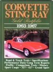 E14571 BOOK-CORVETTE STINGRAY:GOLD PORTFOLIO-63-67