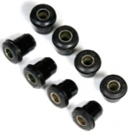 E14828 BUSHING SET-FRONT A ARM UPPER AND LOWER-POLYUERTHANE-8 PIECES-63-82