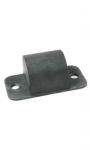 E15139 BUMPER-REAR FRAME OVER LEAF SPRING-WITH FLAT PLATE-EACH-57L-58