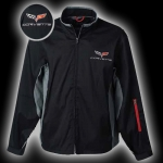 E15541 JACKET-BLACK-C6 MATRIX CORVETTE