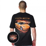 E15597 SHIRT-C6 CORVETTE VETTE DREAMS-BLACK