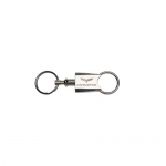 E15707 KEY FOB-CORVETTE-CHROME-PULL APART-C6