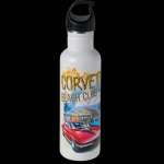 E15756 BOTTLE-CORVETTE BEACH CLUB-18-8 STAINLESS STEEL