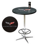 E15772 TABLE-C6 CORVETTE PUB TABLE