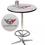 E15773 TABLE-C5 CORVETTE PUB TABLE