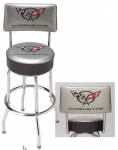 E15774 STOOL-WITH BACK-C5 CORVETTE COUNTER STOOL