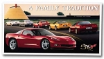 E15781 SIGN-C6 CORVETTE FAMILY TRADITION