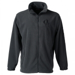 E15854 JACKET-NANTUCKET FULL-ZIP MICROFLEECE-CHARCOAL