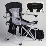 E15883 CHAIR-TRAVEL-CORVETTE STINGRAY-BLACK-GREY