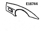 E16744 FENDER-FRONT-HAND LAYUP-RIGHT HAND-80-82