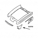 E16753 PANEL-PARK LAMP-HAND LAYUP-LEFT HAND-63-67