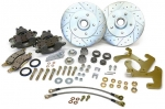 E17019 BRAKE KIT-FRONT DISC BRAKE CONVERSION-WORKS WITH STOCK 15 INCH RIMS-56-62