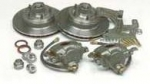 E17020 BRAKE KIT-CONVERSION-DISC BRAKES-REQUIRES 65-66 STEEL WHEELS OR AFTER MARKET-53-62
