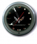 E17080 CLOCK-NEON-20-STINGRAY WITH LOGOS-C1THROUGH C7