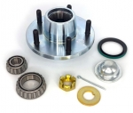 E17132 HUB,FRONT-WITH SEALS AND BEARINGS AND WHEEL STUDS-69-82