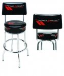 E17222 STOOL-GRAND SPORT CORVETTE COUNTER STOOL WITH BACK-3 HEIGHTS