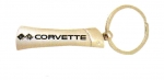 E17233 KEY FOB-CORVETTE-CHROME BLADE-CORVETTE C2