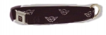 E17255 DOG COLLAR-BLACK-CORVETTE-C5