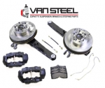 E17622 BRAKE KIT-CONVERSION-DISC BRAKES-REAR-COMPLETE PACKAGE-63-64