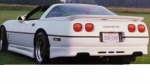 E18096 BODY KIT-SKIRT-REAR WRAP-FIBERGLASS-HAND LAYUP-AEROTECH STREET-84-90