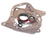 E18206 GASKET SET-TRANSMISSION-4 SPEED-BORG WARNER-WITH SEALS-74-81