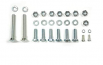 E18414 BOLT KIT-FRONT-BUMPERETTE-ATTACHING-28 PIECES-53-57