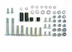E18421 BOLT KIT-FRONT LICENSE PLATE-BUMPERETTE-50 PIECES-58-62