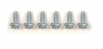 E19050 SCREW SET-SHIFTER LOWER RETAINER-MANUAL-STAINLESS STEEL-6 PIECES-68-81