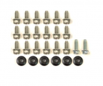 E19189 BOLT KIT-REAR IMPACT BAR BRACKET-26 PIECES-75-79