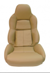 E19619 COVER-SEAT-LEATHER LIKE-MOUNTED ON FOAM-STANDARD-94-96