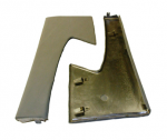E19664 SUPPORT-DOOR PANEL-UPPER METAL-WITH RUBBER COVER-PAIR-58