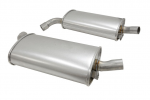 E19789 MUFFLER-STAINLESS STEEL-2 INCH-PAIR-68-72