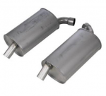 E19791 MUFFLER-STAINLESS STEEL-2.5 INCH-PAIR-68-72