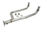 E19827 PIPE-EXHAUST-FRONT-Y PIPE-ALUMINIZED-82