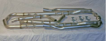 E19942 EXHAUST SYSTEM-CHAMBERED-ALUMINIZED-WITH STAINLESS STEEL TIPS-92-96