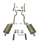 E20205 EXHAUST SYSTEM-DELUXE-2 INCH-SMALL BLOCK-MANUAL-63