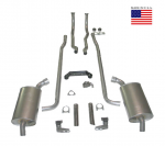 E20206 EXHAUST SYSTEM-DELUXE-2 INCH-SMALL BLOCK-MANUAL & AUTOMATIC-64-67