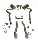 E20215 EXHAUST SYSTEM-DELUXE-2 TO 2.5 INCH-SMALL BLOCK-AUTOMATIC-70-72