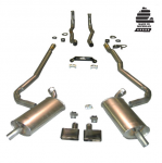 E20229 EXHAUST SYSTEM-DELUXE-2 INCH-SMALL BLOCK-MANUAL-70-72