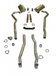 E20231 EXHAUST SYSTEM-DELUXE-2 INCH-SMALL BLOCK-AUTOMATIC-69