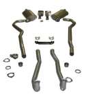 E20232 EXHAUST SYSTEM-DELUXE-2 INCH-SMALL BLOCK-AUTOMATIC-70-72