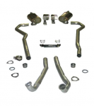 E20296 EXHAUST SYSTEM-MAGNAFLOW-DELUXE-2.5-BIG BLOCK-454-AUTOMATIC-70-72