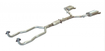 E20364 EXHAUST SYSTEM-ALUMINIZED-STOCK-WITH CONVERTER-84