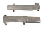 E20423 HEAT SHIELD-EXHAUST PIPE-2.5 INCH-STAINLESS STEEL-PAIR-64-65