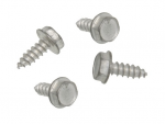 E20424 SCREW SET-HEAT SHIELD-EXHAUST PIPE-4 PIECES-63-67