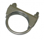 E20433 CLAMP-EXHAUST PIPE-2.25 INCH-STAINLESS STEEL-EACH-68-82