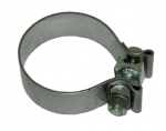 E20449 CLAMP-EXHAUST PIPE-2.75 INCH-STAINLESS STEEL-ACCUSEAL-HI TORQUE-84-13