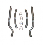 E20496 PIPE SET-EXHAUST-ALUMINIZED-TAIL PIPE-59-60