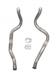 E20497 PIPE SET-EXHAUST-ALUMINIZED-TAIL PIPE-61-62